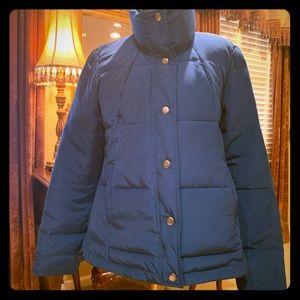 Ann Taylor Loft Teal Puffer Jacket